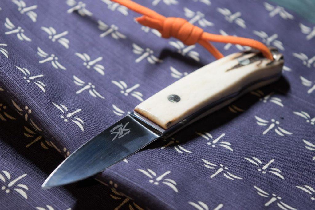 ナイフ作家、内田啓さんのリトルケーパー。